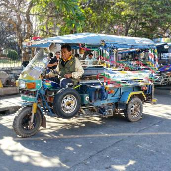 Colorful Tuktuk