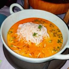 Chili Paste Noodle Soup Curry (Main Dish) - Credit: D-Lynn