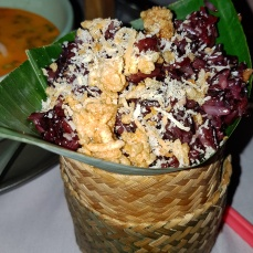 Crushed Coconut Sticky Rice (Side Dish) - Credit: D-Lynn