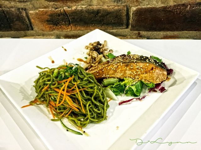Done 7.1 Wheat Baumkuchen - Soba cá hồi + Soba thịt nướng