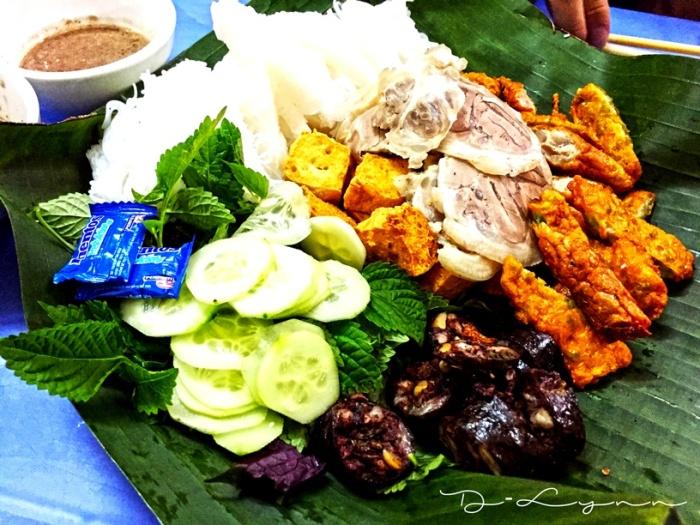 Hanoi Bún đậu mắm tôm Hàng Khay