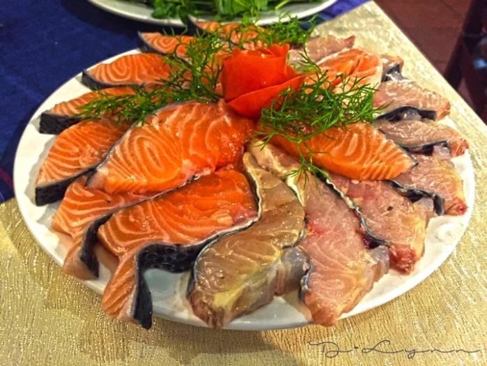 Dlynntravelblog_Sapa Lotus Lẩu cá Tầm cá Hồi nét đặc trưng của Sapa
